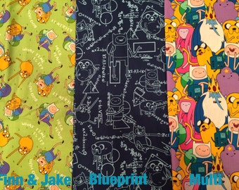Choose Your Fabric Adventure Time® cross fit Wrist Wraps