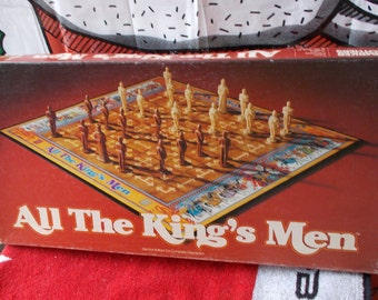 Vintage All the King's Men 1979 Parker Brothers Game Complete