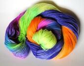 Tropics -Hand Dyed Sock Yarn-