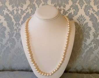 Vintage Marvella Pearls 30 Inches Original Tag