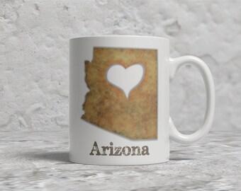 Arizona Mug, Love Arizona