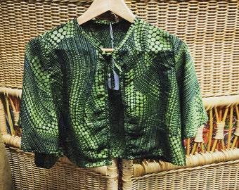 Gorgeous green neck tie  shawl
