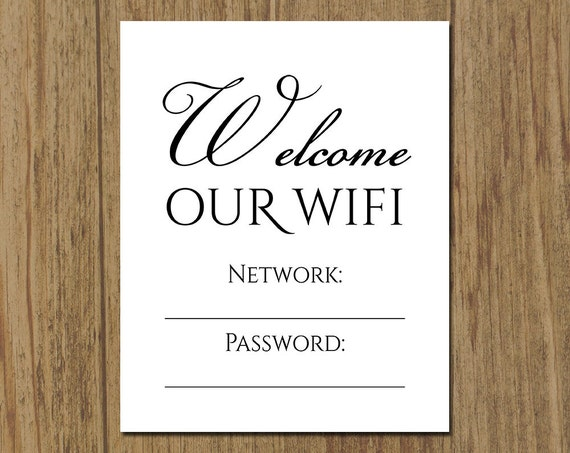 Hilaire image pertaining to wifi password printable