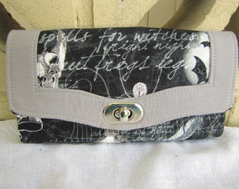 Black and Grey Necessary wallet
