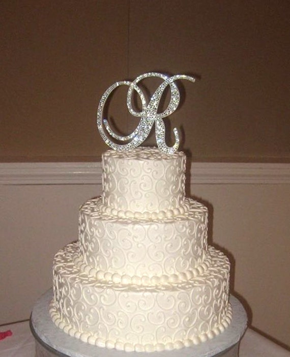 wedding cake rhinestone bling wedding cake topper sparkle rhinestone 23676