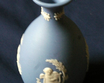 Wedgewood Blue Vase.