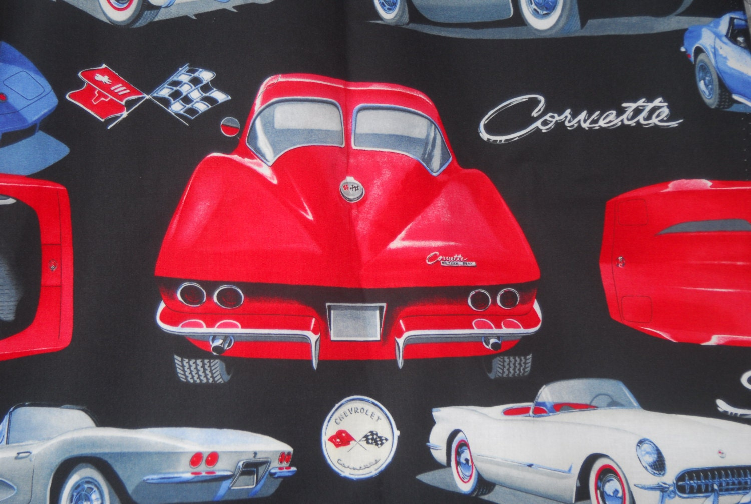 Wow We Have Corvette Fabric Stingray General Motor Authentic