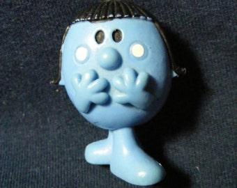 Little Miss Shy Figure, Mr Men, 1980's, PVC Figure