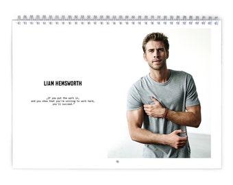 Liam Hemsworth Vol1. Calendar