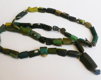 ancient Roman beads necklace bead strand