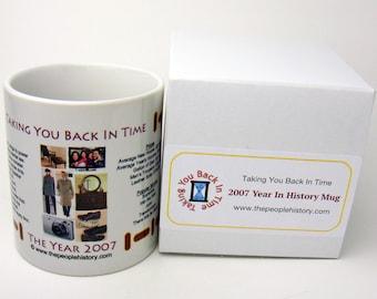 2007 Year In History Coffee Mug