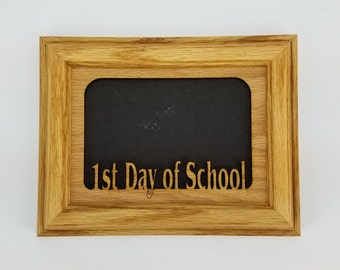 First Day of School Picture Frame, Back to School Picture Frame, Photo Frame, School Photo Frame, School Pictures, 1st Day of School