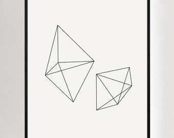 Geometric Art, Minimal Prints, Black and White Wall Art, Geometric Wall Prints, Minimalist Wall Prints, Geometric Prints, Minimalist Art