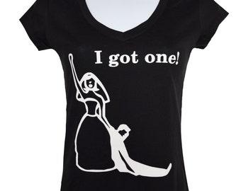 New I Got One V-neck wedding shirt