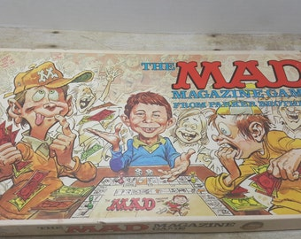 The Mad Magazine Game, 1979, vintage board game, mad game