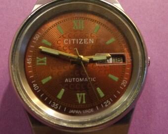 Vintage Citizen Automatic WRIST WATCH