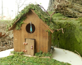 Fairy Cottage with Moss and Vines