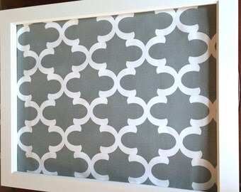 Large Framed Magnetic Bulletin Board Memo Board Stainless