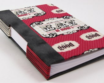 Blank recipe book, Recipe book, cook book, blank cook book, handmade recipe book with index