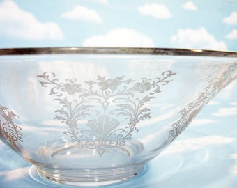 Flared Bowl  by Cambridge, large 12 inch fruit, centerpiece, console bowl