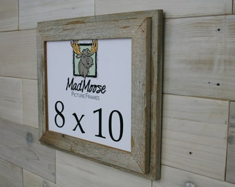 8x10 Double Barn Wood Picture Frame