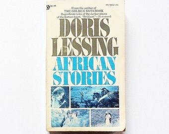 Doris Lessing: African Stories 1965, Popular Library Vintage Short Story Collection Fiction Literature