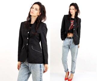 Steeds Jacket / Horse Riding Jacket / Formal Jacket / Black Blazer / Women Blazer / Medium Jacket