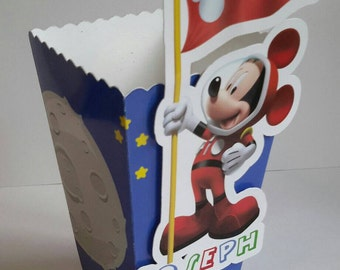 Mickey Mouse Popcorn Boxes (Pk 10)