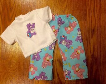 Care Bear American Girl Pajama Set