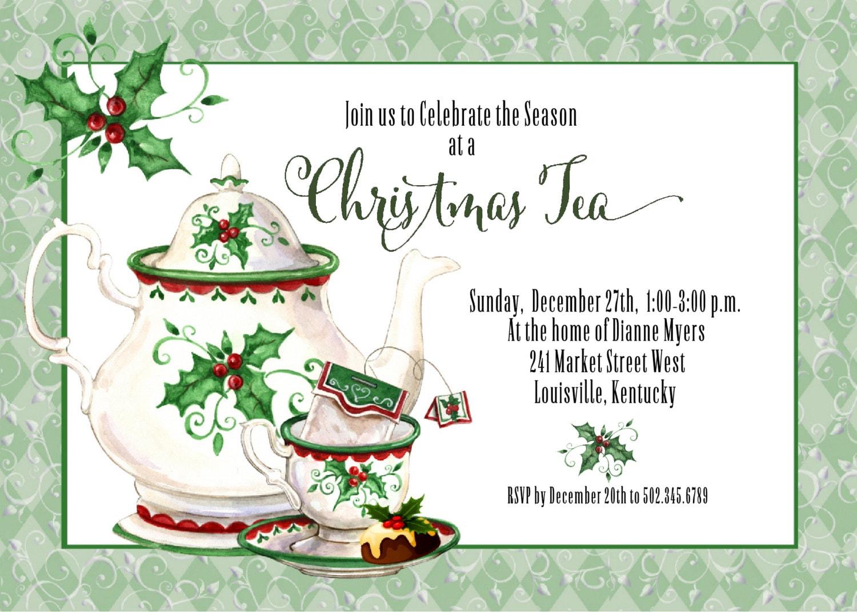 il_fullxfull.1061836303_7fpn holiday tea invitation christmas tea invitation tea party,Christmas Tea Party Invitations