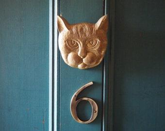cat door knocker