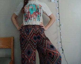 Funky Pattern Pants