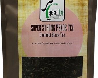 Super Pekoe Strong Black Tea, 20 Tea Bags