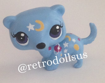 Littlest Pet Shop Toy - Custom OOAK LPS Ferret