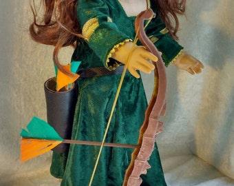 Disney Brave Merida Costume for American Girl Doll