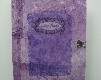 Journal Lilac Poesy Tagebuch