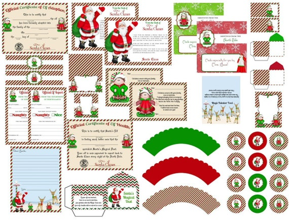 Elf On The Shelf Printable Pack