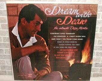 1964 Dream With Dean, The Intimate Dean Martin LP Record Album