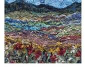 Landscape Lesson- online booklet teaching how to rug hook a landscape