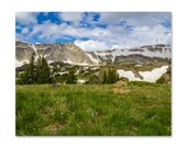 Snowy Range Mountains - Fine Art Photography - Nature Print - Landscape Print - Wyoming Mountain Print - Mountain Range - Travel Photo