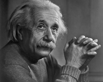 Albert Einstein Portrait - Photo Print