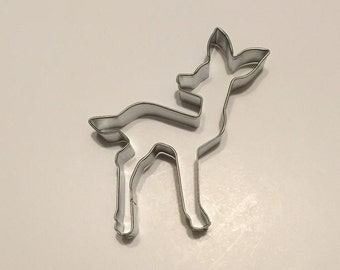 "4.25"" Fawn Cookie Cutter"