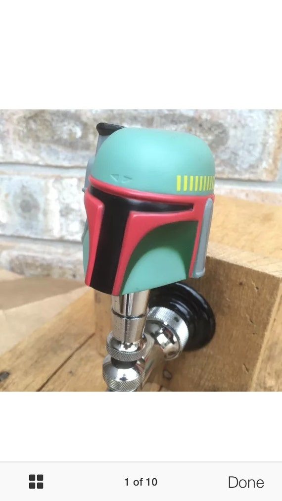 Star Wars Tap Handle Boba Fett The Empire Strikes Back Beer
