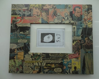Star Wars Decoupaged 5x7 Picture Frame