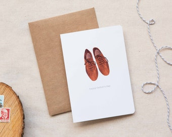 Father's Day Card   |  Leather Brogue Shoes