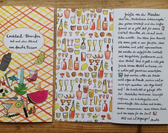 Cocktail favorites (with and without alcohol) - written and illustrated by Amelie Persson appeared in the Jaja Verlag Berlin