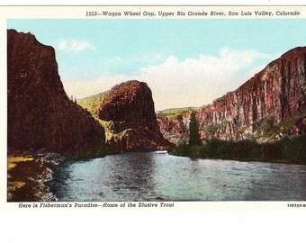 San Luis Valley Colorado Vintage Postcard (unused)