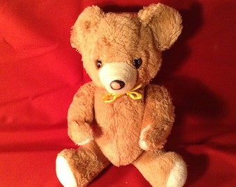 Vintage Stuffed Teddy Bear - 1975 - Movable Arms and Legs