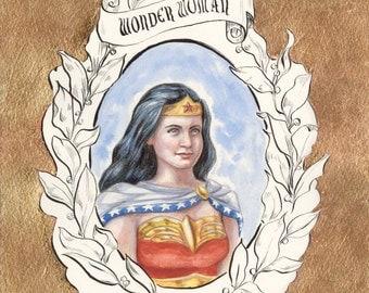 PRINT A4 - Wonder Woman