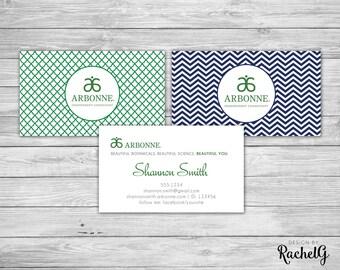 Arbonne Independent Consultant Custom Business Card (digital file)